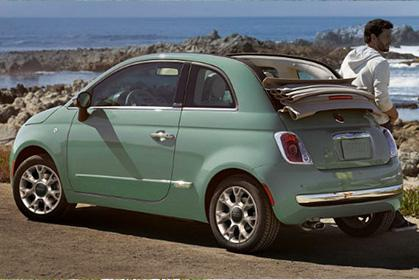 Fiat 500 Cabrio Manual heraklion crete airport prices