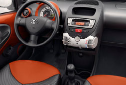 Toyota Aygo- car rental in crete prices