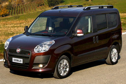 Fiat Doblo - crete rent a car prices in heraklion
