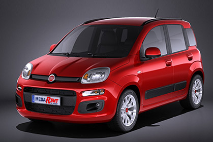 Fiat Panda - prices for car hire in heraklion crete