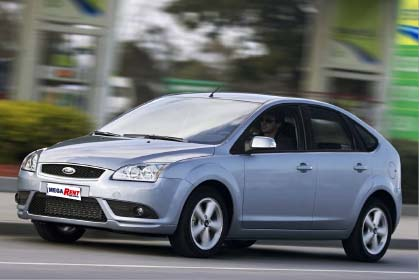 Ford Focus Automatic car hire crete offer