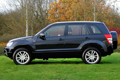 Suzuki Grand Vitara Automatic- car hire in crete prices