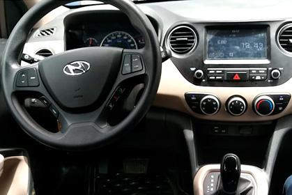 Hyundai i10 Automatic - rent a car prices in crete inside car