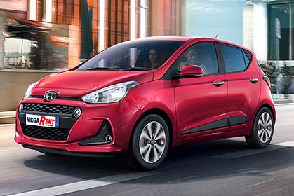 Hyundai i10 Automatic - crete car rental prices in heraklion