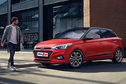 Hyundai i20- car hire in crete prices