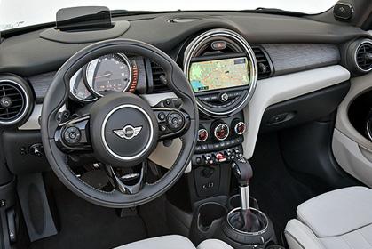 crete car rental prices for a Mini Cooper Cabrio inside