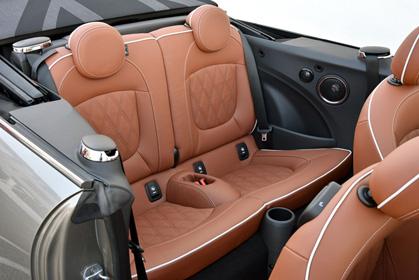 crete car rental prices for a Mini Cooper Cabrio baggage