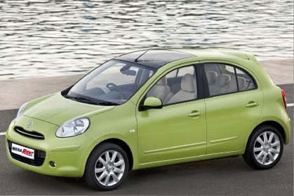 Nissan Micra Automatic 5 seats special car rental heraklion offer