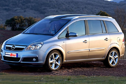 Opel Zafira - heraklion crete airport prices
