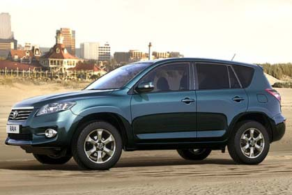 Toyota RAV4 Automatic - rent a car prices in crete
