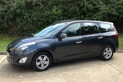 Renault Scenic Automatic - rent a car crete prices