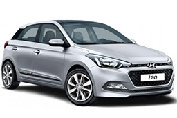 Hyundai i20 prices for car hire in crete