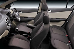 car hire in heraklion prices Hyundai i20 inside car