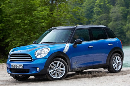 Mini Countryman Automatic - car hire crete prices