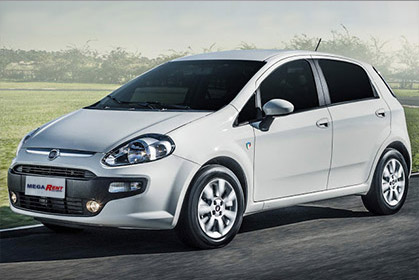 Fiat Punto prices for car hire in crete