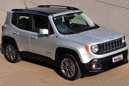 Jeep Renegate Automatic 5 seats special car rental heraklion offer