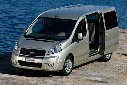 Fiat Scudo Automatic car hire crete offer