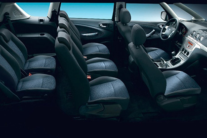 crete car rental prices for a Ford S-Max 7 seats Titanium inside