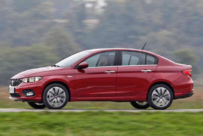 Fiat Tipo Sedan Automatic special car hire heraklion offer