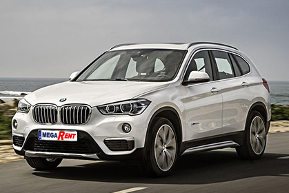 BMW X1 Automatic - crete car rental prices in heraklion