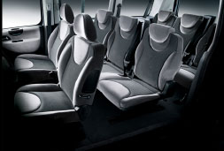 rent a car heraklion airport price Fiat Scudo inside car