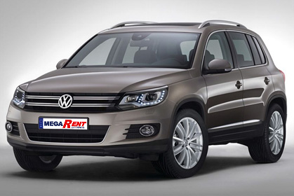 VW Tiguan Automatic  - rent a car crete prices