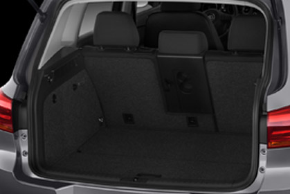 car hire crete VW Tiguan Automatic baggage