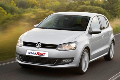 VW Polo- car hire in crete prices
